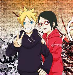 Our goal is to keep old friends, ex-classmates, neighbors and colleagues in touch. Naruto Shippuden Sasuke, Anime Naruto, Sarada E Boruto, Narusaku, Naruto Art, Naruhina, Kakashi, Naruto Team 7, Boruto Next Generation