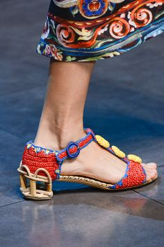 Dolce & Gabbana - Spring Summer 2013 Ready-To-Wear - Accessories Dolce & Gabbana, Shoe Boots, Shoes Sandals, Heels, Crazy Shoes, Me Too Shoes, Fab Shoes, Moda Fashion, Fashion Shoes