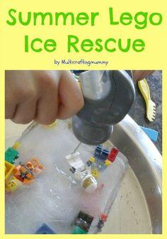 summer lego ice rescue