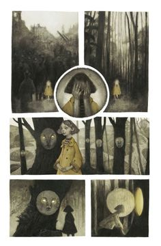 Audrey Benjaminsen: I created this short narrative a couple months ago, but I finally feel ready to share it with you. Despite its length, making this was a laborious process and took me quite some time to put together. (media: charcoal, graphite and digital) This story...