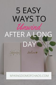5 Easy Ways to Unwind After a Long Day. Sometimes the day can be stressful and chaotic. Use these 5 simple techniques to unwind. Self care for moms is so important! Take some time each evening for yourself and relax. Entrepreneur, How To Get Motivated, Working Mom Tips, Ways To Relax, My Emotions, Working Woman, Stress Management, New Tricks, Stress Relief