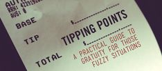 Tipping Points: A Practical Guide to Gratuity for Those Fuzzy Situations - Primer