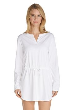 f2140dda4c1a9 Long Sleeve Beach Cover Up - Shop Swim Cover-Ups - Coolibar: Sun Protective