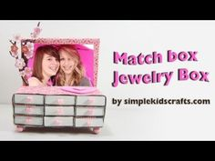 How to make a matchbox Jewelry with drawers - EP. In this episode we show you how to make a matchbox jewelry drawer Come Back to Simplekidscrafts Channel Every Day for Fun Easy Crafts and Miniature Dollhouse Accessories, Toys and Rooms for Barbie Dolls. Diy Jewelry Videos, Diy Videos, Jewelry Drawer, Jewelry Box, Miniature Dollhouse Accessories, Fun Easy Crafts, Diy Recycle, Dollhouse Miniatures, Barbie Dolls