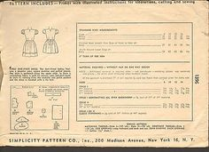 Simplicity-1396-Vintage-Sewing-Pattern-Girls-Dress-Dart-Fitted-Bodice-1940s