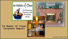 Homeschool Coffee Break: 34 Weeks of Clean - Week 2