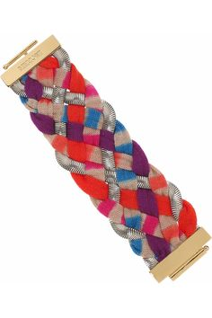 Missoni woven-knit and chain bracelet $600 - Net-a-Porter