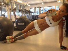 Different versions of ab planks are one of the best ways to build a STRONG, FLAT stomach. They'll help carve out your obliques and lower abs, too.