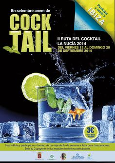 II Ruta del Cocktal de La Nucía.