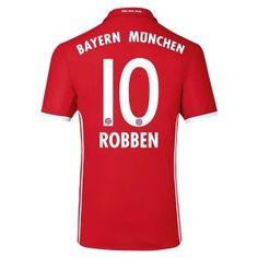 16-17 FC Bayern Munichen Cheap Home Replica Shirt #10 ROBBEN [E620]