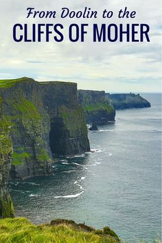 From the tiny village of Doolin I made my way to the Cliffs of Moher, Ireland's top natural attraction, for an inspiring, melancholic visit. (Click to learn more.)