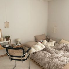 Room Ideas Bedroom, Bedroom Decor, Room Interior, Interior Design, Aesthetic Room Decor, Minimalist Room, Cozy Room, Dream Rooms, New Room