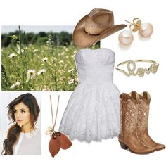 """Cowboy Take Me Away"" by qtpiekelso on Polyvore"
