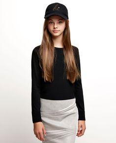 Girl's Silver Pinched Mini - PRE ORDER - Bardot Junior