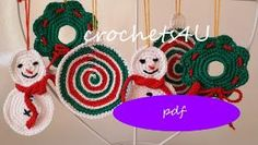 crochet christmas decoration by crochets4U