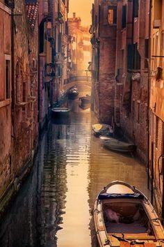 Venetian Morning ~ Italy  Photo by: Marie Otero