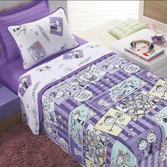 Kit Cobre Leito INFANTIL Altenburg - Premier Kids - Meninas Pop Star - com Ions de Prata  http://www.tokdeconforto.com.br/kit-cobre-leito-infantil-altenburg-premier-kids-ions-de-prata-meninas-pop-star #cama #edredom #decoração #decor