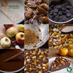 Kuchařka ze Svatojánu: ČOKOLÁDOVÝ DORT S KARAMELOVÝMI JABLKY Agar, Sweet Tooth, Cereal, Breakfast, Food, Morning Coffee, Essen, Meals, Yemek