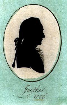1786, Johann Wolfgang Goethe