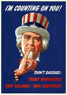 Uncle Sam is counting on you! (1943) #America #1940s #WW2 #propaganda #posters