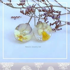 Авторські прикраси (Handmade) в Instagram: «Модель #093 Сережки з польовими квітами ручної роботи. Фурнітура з медичної сталі (не темніє, не окисляється, не викликає подразнення і…» Onion, Vegetables, Nature, Jewelry, Naturaleza, Jewlery, Jewerly, Onions, Schmuck