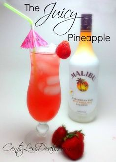 The Juicy Pineapple Drink recipe - CentsLess Deals