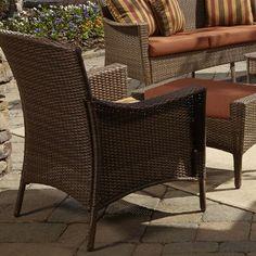 Panama Jack Key Biscayne Lounge Chair with Cushion Fabric: Air Blue