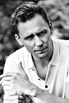 Tom Hiddleston is so handsome and smart, he's educated, and treats people with respect. He's part of UNICEF and can speak different languages.