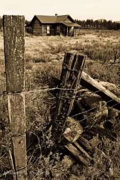 Whitney, Oregon - An amazing one street ghost town of abandoned barns. Beautiful
