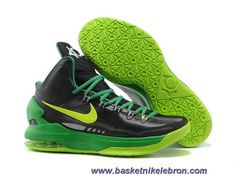 best sneakers 8bd99 900c3 Buy Discount Nike Zoom KD V 5 Black Green Basketball Shoes Basketball Shoes  Shop