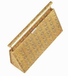 Solid Gold, White Gold, Diamond Gemstone, Handbag Accessories, Evening Bags, Bridal Style, Handbags, Jewels, Purses
