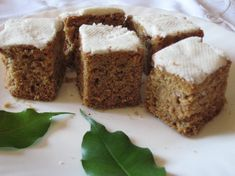 Greek Cake, The Kitchen Food Network, Semolina Cake, Greek Sweets, Vegan Cake, Greek Recipes, Food Network Recipes, Baking Recipes, Banana Bread