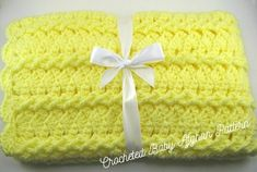 Ravelry: Lemon Twist Car Seat Baby Afghan pattern by the Jewell's Handmades. Baby Afghan Crochet Patterns, Baby Blanket Crochet, Crochet Baby, Crochet Afghans, Crochet Blankets, Crochet Gifts, Diy Crochet, Baby Afghans, Baby Blankets