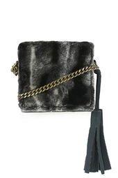 Faux Fur Boxy Bag