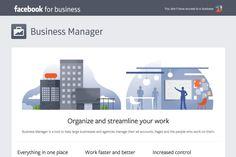 Facebook Business Manager: Neues offizielles Tool hilft bei der Verwaltung von Seiten, Nutzern und Werbeaccounts auf Facebook