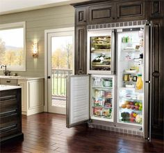 Liebherr SBS 246 Series Refrigerator: versatile five-zone refrigerator combines a fridge, a freezer, and a wine storage unit in one appliance. Description from pinterest.com. I searched for this on bing.com/images
