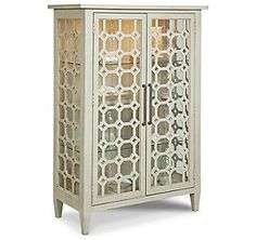 24 Willow Crossing - Block Party Display Cabinet (Brushed Linen finish)