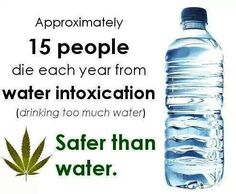 Safer than water
