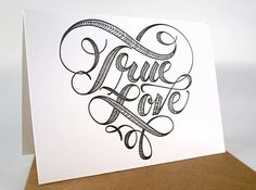 And Here We Are True Love Card