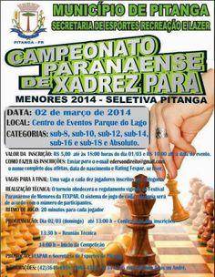 BLOG DO MARKINHOS: Campeonato Paranaense de Xadrez na cidade de Pitan...