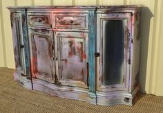 The Factory Girl Clayton Buffet by claysilver on Etsy, $650.00