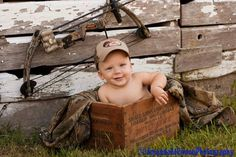 Little Hunter Baby Picture now that is just adorable!!