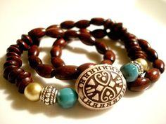 Yoga Bracelet  Boho Bracelet  Yoga Jewellery  Boho by Gnosticos, $26.00