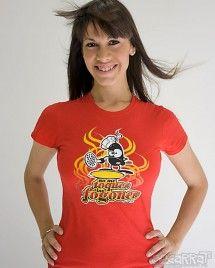 Camiseta - No me toques los fogones!