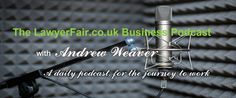 Daily Podcast A Content Marketing High, Legal Tech & Lawyers, Mystery Shopper Exposed - LawyerFair: Find The Best Lawyers for Your Business! We compare lawyers & costs. You save time & money. Content Marketing, Online Marketing, Mystery Shopper, Encouraging Thoughts, Live On Air, Business Advisor, Good Lawyers, Social Enterprise, Up And Running
