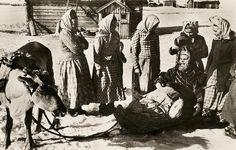 Skolt Sami women in Finland