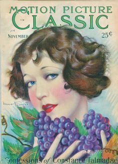 Vintage Movie Magazine  - Motion Picture, November 1928  Mary Prevost in pic