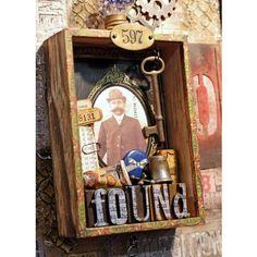 Cajas Vintage Tim Holtz