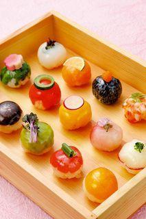 Resultado de imagen para praesentation fingerfood japan