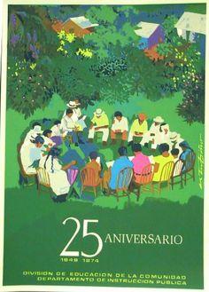25 Aniversario por Rafael Tufiño